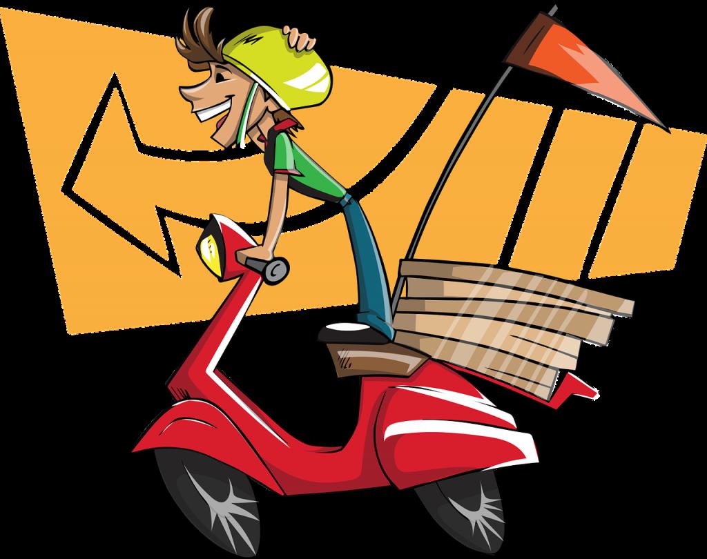 מסוכן ומתגמל- היתרונות והחסרונות לעבודה כשליח על אופנוע