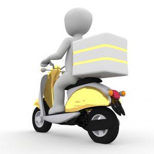 מסוכן ומתגמל היתרונות והחסרונות לעבודה כשליח על אופנוע